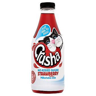 Crusha hinzugefügt nicht Zucker Erdbeer Milchshake Mix