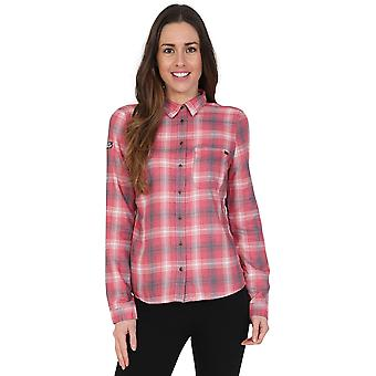 Superdry Star Studded Check Shirt Red 79