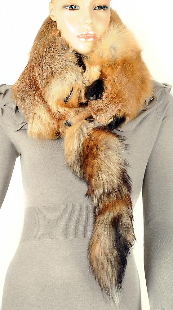 Waooh - Fur - ganze Fox Schal