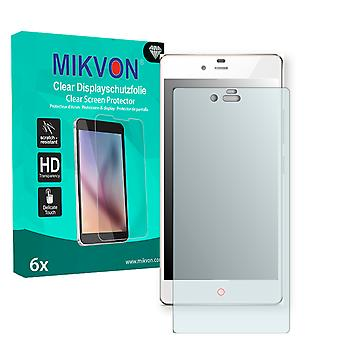 ZTE Nubia Z9 Mini Screen Protector - Mikvon Clear (Retail Package with accessories)