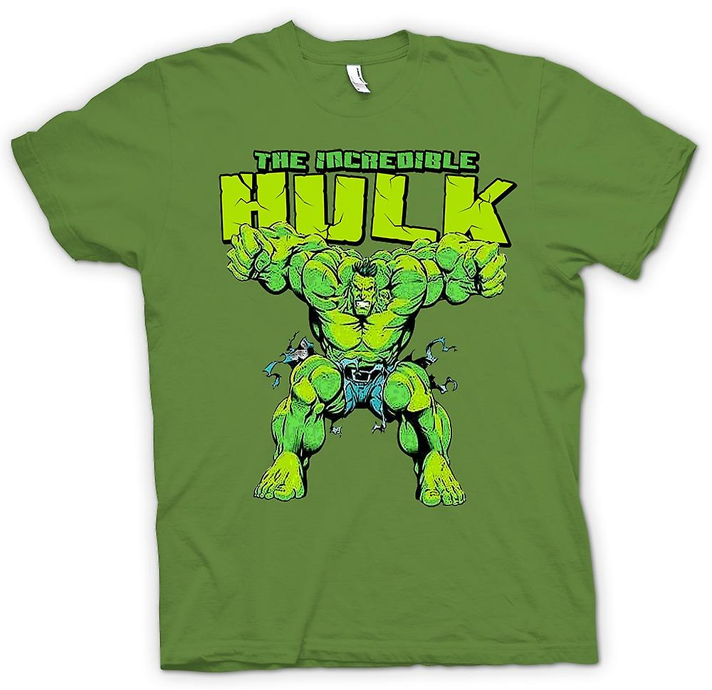 Héros de bande dessinée de mens T-shirt - The Incredible Hulk-