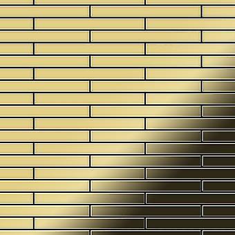 Metal mosaic Brass ALLOY Deedee-BM