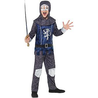 Caballero niño niño traje cota la óptica carnaval del disfraz de caballero medieval medieval niño