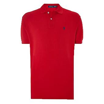 Ralph Lauren Polo Shirt Red Classic Fit