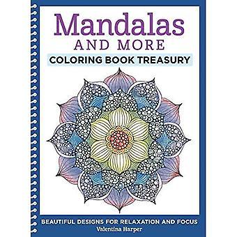 Mandala's en meer Coloring boek Schatkist: prachtige ontwerpen voor ontspanning en Focus (kleuren-collectie)