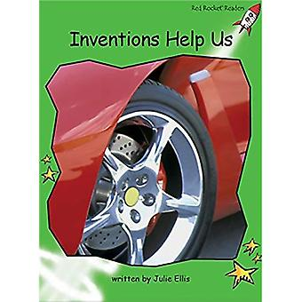 Inventions Help Us: Level 4: Early (Red Rocket Readers: Non-fiction Set A)