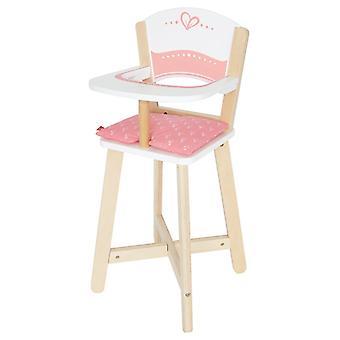 Jeu d'imitation enfant jeux jouets Chaise haute pour poupée 0102114