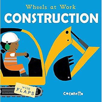Construction (Wheels at Work (US edition)) [Board book]