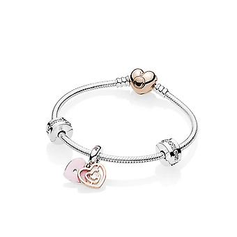 PANDORA Fun In Love Bracelet Gift Set