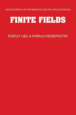 Finite Fields by Lidl & Rudolf