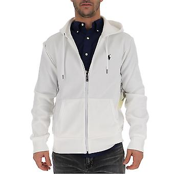Ralph Lauren White Cotton Sweatshirt