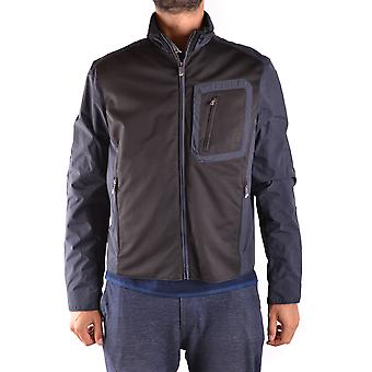Paul & Shark Blue Nylon Outerwear Jacket