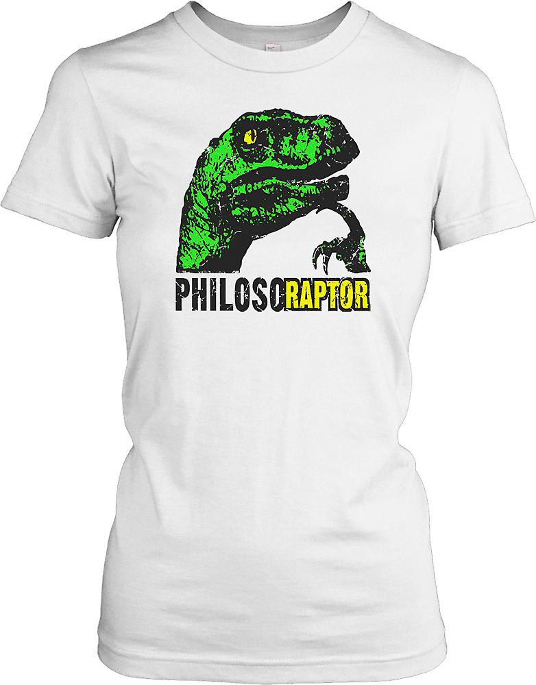 Philosoraptor Head Ladies T Shirt