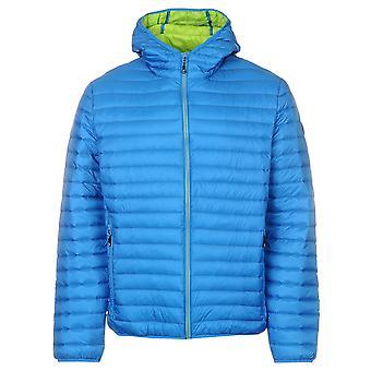 Karrimor Mens Hooded Down Jacket Coat Top Long Sleeve Water Resistant Breathable