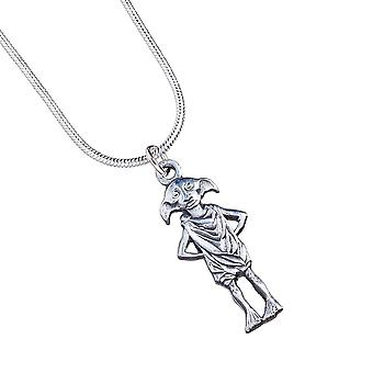 Harry Potter Silver Plated Necklace Dobby