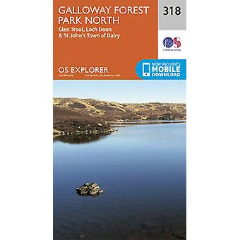 Galloway Forest Park North (September 2015 ed) by Ordnance Survey - 9