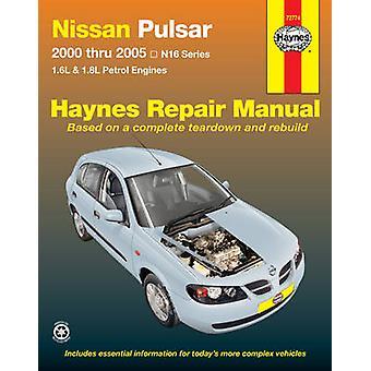 Nissan Pulsar Service & Repair Manual - 2000 to 2005 - 9781563927904 B