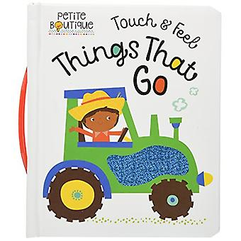 Petite Boutique Touch and Feel Things That Go by Veronique  Petit - 9