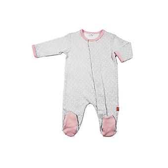 Magnetisk meg™ av Magnificent baby Cotton mod dot footie