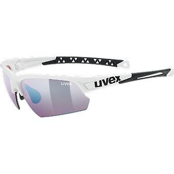 Uvex sportstyle 224 white ColorVision Litemirror outdoor cat. 2