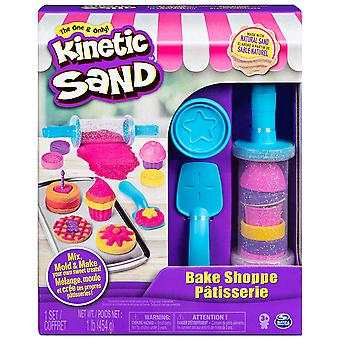 Kinetic Sand 6045940 Bake Shop With 16 Tools And Moulds