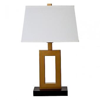 Premier Home Leora Table Lamp, Fabric, Bronze