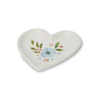 Cooksmart Country Floral Teabag Tidy