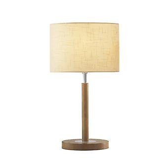 Avenue Table Lamp Lt Wood Complete With Shade Ave1043