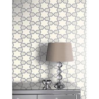 Arthouse Rio Star patroon behang streepmotief moderne metallic glitter 690701