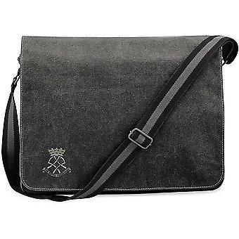 Royal Yeomanry - lizenzierte britische Armee bestickt Vintage Leinwand Versand Messenger Bag