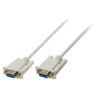 Valueline последовательного кабеля D-Sub 9-ПИН - женщина 2 m 9-контактный D-Sub