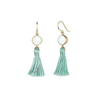 Elli Pendulum Earrings And Drop by Donna Vermeil