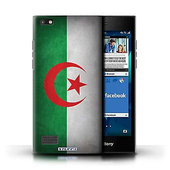 STUFF4 Case/Cover for Blackberry Leap/Algeria/Algerian/Flags