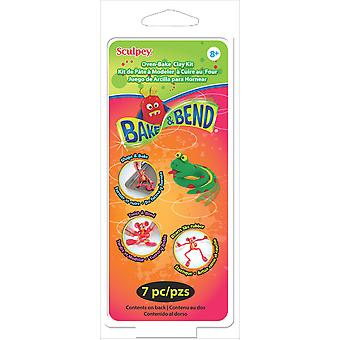 Sculpey Kit 1 Ounce 6 Pkg Bake & Bend K36120