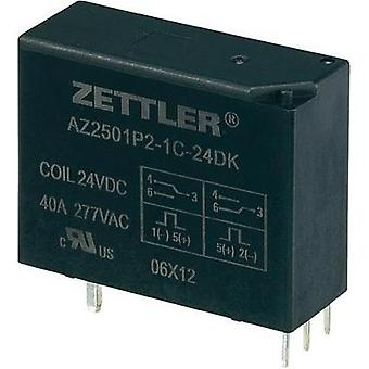 PCB relays 24 Vdc 50 A 1 change-over Zettler Electronics 1 pc(s)