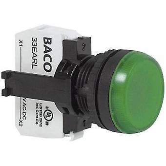 Indicator switch + LED Yellow 230 Vac BACO L20SE40