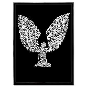 Cristal arte cuadro Angel MBP-5