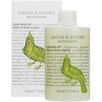 Green & Spring Revitalising Light Bath Oil