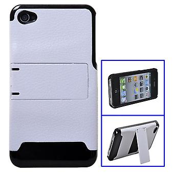 Hardcover with stand (white and black)-iPhone 4/4S