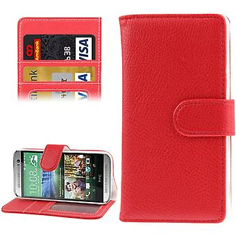 Cell phone case for mobile HTC one mini 2 Red