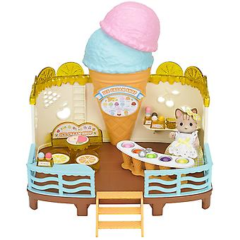Familles sylvanian Seaside Ice Cream Shop jeu