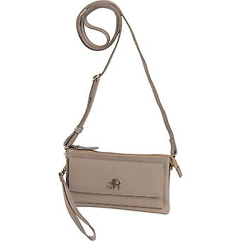 Dr Amsterdam shoulder bag/Clutch Basil Taupe