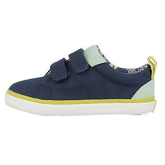 Gioseppo Boys Smith Canvas Shoes Navy Blue