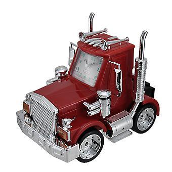 Северной Америке большой Рог красное грузовик будильник w/огни & звук