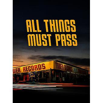 Wszystkie rzeczy musi Pass: Powstanie & upadku USA Tower Records [DVD] importu