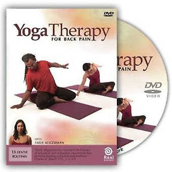 Yoga Therapy for Back Pain [DVD] USA import