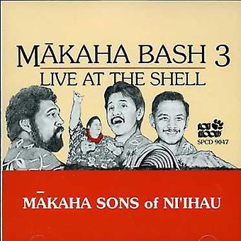 Makaha sønner af Ni'Ihau - Makaha sønner af Ni'Ihau: Vol. 3-Live på Shell [CD] USA importen