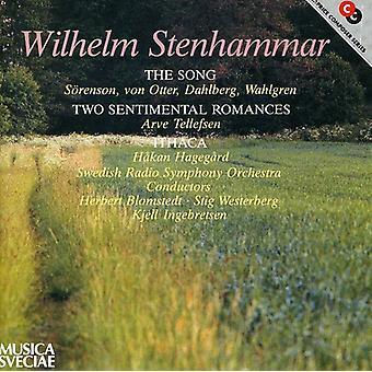 W. Stenhammar - Wilhelm Stenhammar: Sangen; To Sentimental romancer; Ithaka [CD] USA importerer
