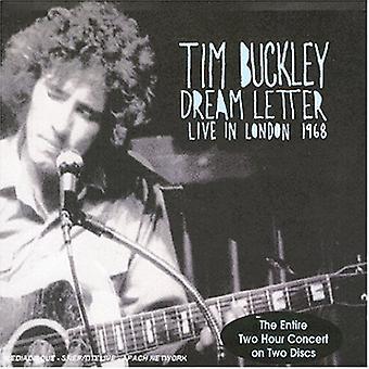 Tim Buckley - drøm brev-Live i London 19 [CD] USA importerer