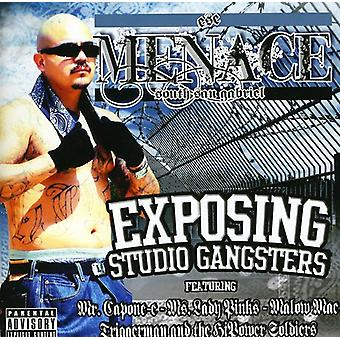 Amenaza - exposición Studio Gangsters [CD] USA importar